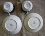 Кузнецовский фарфор. Чайные пары
