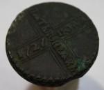 5 копеек 1727 г.