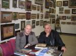 """И.С. Шишкин в галерее """"Коллекционер"""""""